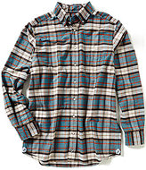 Daniel Cremieux Big & Tall Long-Sleeve Graph Oxford Woven Shirt