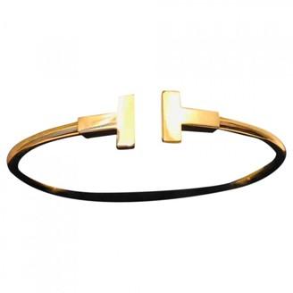 Tiffany & Co. & Co T Gold Yellow gold Bracelets