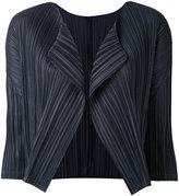 Pleats Please By Issey Miyake - cropped blazer - women - Polyester - 4