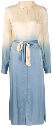 Forte Forte Gradient-Print Shirt Dress