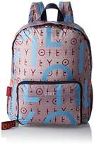 Oilily Enjoy Backpack Lvz, Women's Backpack, Grau (), 13x40x30 cm (B x H T)