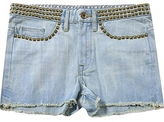 Jeans Studded Cut Off Shorts