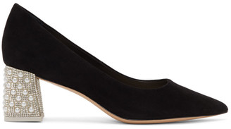 Sophia Webster Black Amber Mid Pumps