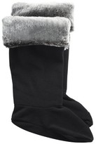 Merona Women's Rain Boot Liner - Black with Fur