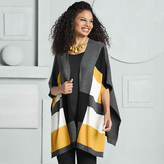 Color Block Cape Sweater