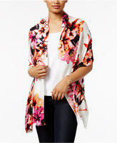 INC International Concepts Sunset Floral Wrap and Scarf in One, Created for Macy's