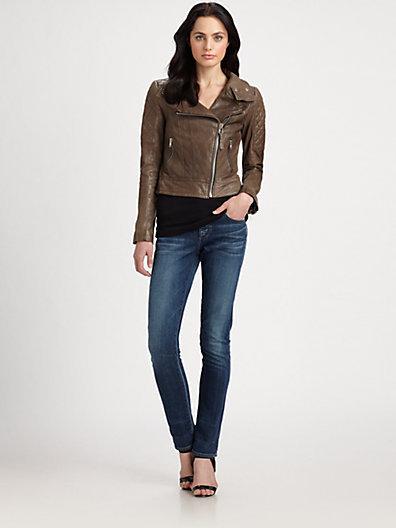 Mackage Larissa Leather Jacket
