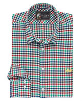 Thomas Pink Lions Freeman Check Classic Fit Button Cuff Shirt