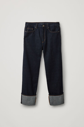 Cos Straight Turn-Up Jeans