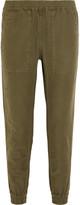 Nlst Cotton and hemp-blend track pants