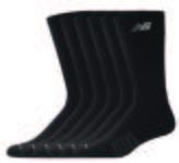 New Balance 6 Pack Crew socks