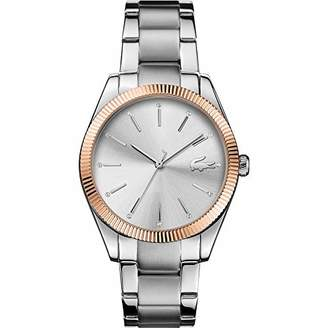 Lacoste Womens Analogue Classic Quartz Watch with Stainless Steel Strap 2001082