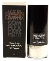 Keratin Complex Volumizing Dry Shampoo Lift Powder for Unisex, White, 0.31 Ounce