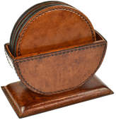 Genuine Leather Round Coasters
