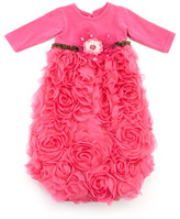 cachcach Soho Cute Sac Gown, Hot Pink