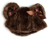Mud Pie Baby-girls Newborn Fur Hat