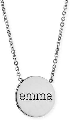 Chicco Zoe 14k Personalized Disc Pendant Necklace