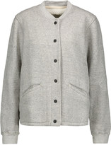 Current/Elliott The Classic marled cotton-blend jacket