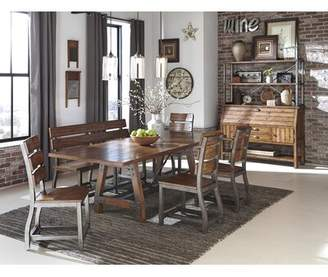 Liam Extendable Dining Table Millwood Pines