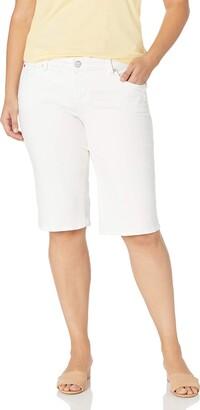SLINK Women's Plus Size Bermuda Short