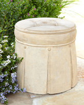Horchow Outdoor Ottoman