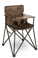 ciao! babyTM Portable Highchair in Chocolate Brown