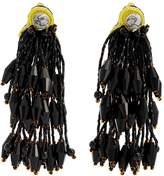 Etro Bead-embellished tassel earrings