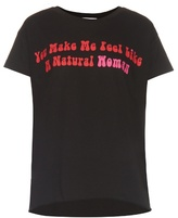 Natasha Zinko Slogan-print cotton-jersey T-shirt