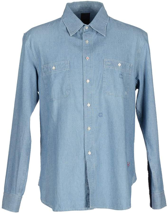 (+) People + PEOPLE Denim shirts - Item 42504871