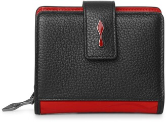 Christian Louboutin Paloma mini black red wallet