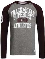 Superdry Long Sleeved Top Port/phoenix Grey Grit