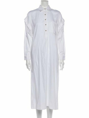 Mara Hoffman 2020 Long Dress w/ Tags White