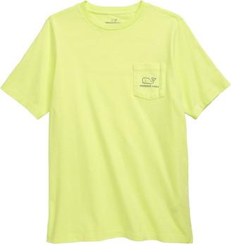 Vineyard Vines Sunkissed Vintage Whale Pocket T-Shirt