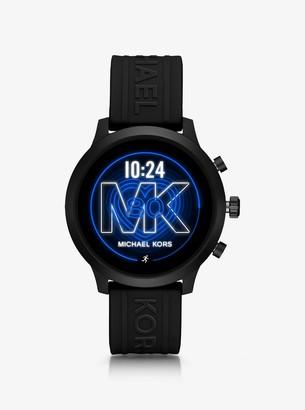 Michael Kors MKGO Black-Tone and Silicone Smartwatch