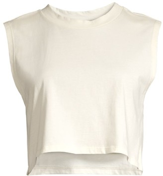Leah And Rae Indy Organic Cotton Cropped Tank