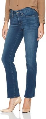 NYDJ Women's Petite Size Marilyn Straight Jeans in Smart Embrace Denim