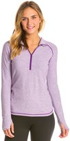 Lucy Women's Dashing Stripes Half Zip Top 8135392