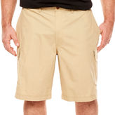 Izod Classic Fit Poplin Cargo Shorts Big and Tall