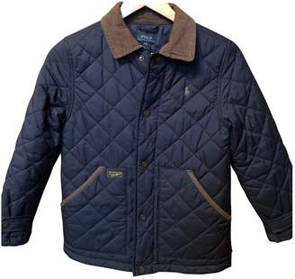 Polo Ralph Lauren Blue Polyester Jackets & Coats