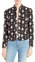 Rebecca Taylor Women's Blanche Fleur Quilted Cotton Jacket