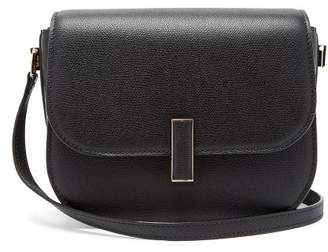 Valextra Iside Cross-body Grained-leather Bag - Womens - Black