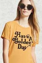 Forever 21 FOREVER 21+ Golden Day Graphic Tee