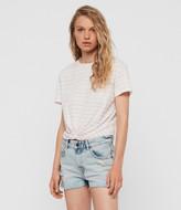 AllSaints Painted Stripes Carme T-Shirt