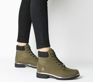 Timberland Slim Premium 6 Inch Boots Forest Night Rose Gold