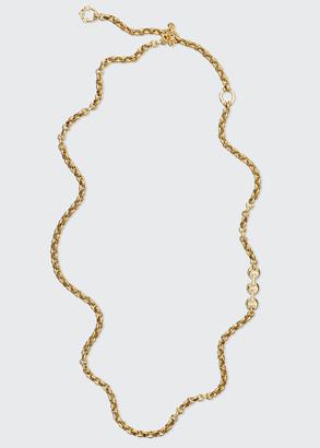 Hoorsenbuhs 5mm Open-Link Necklace with Diamonds