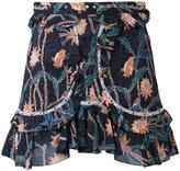Isabel Marant Ugi mini skirt - women - Cotton/Acrylic/Brass - 36
