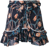 Isabel Marant Ugi mini skirt - women - Cotton/Acrylic/Brass - 40
