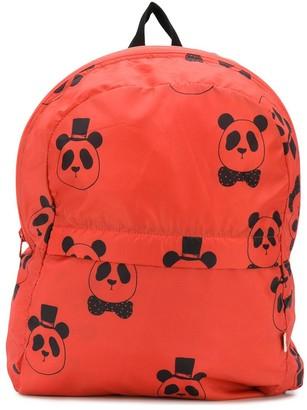 Mini Rodini Panda-Print Backpack