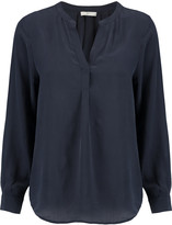 Joie Peterson washed-silk blouse