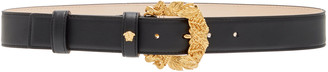 Versace Western Leather Buckle Belt